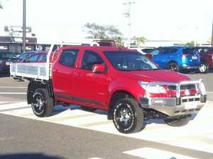 2012 Holden Colorado RG MY13 LX Crew Cab Red 6 Speed Sports Automatic Cab Chassis