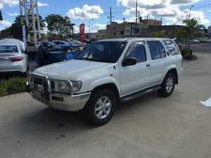 2002 Nissan Pathfinder WX II MY2002 ST White 4 Speed Automatic Wagon