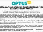 PROPOSAL TO UPGRADE AN EXISTING MOBILE PHONE BASE STATION AT YANGAN