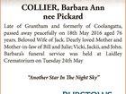 COLLIER, Barbara Ann nee Pickard