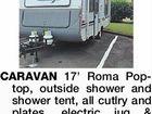 CARAVAN 17' Roma Poptop,