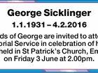 George Sicklinger