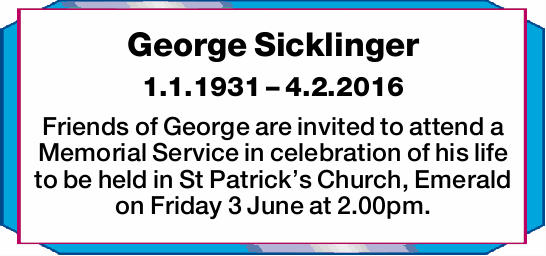 1.1.1931 – 4.2.2016