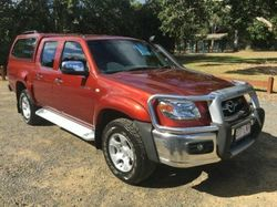 2008 Mazda BT-50 UN SDX Red Automatic Utility