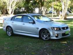 2011 Holden Commodore VE II SV6 Heron White 6 Speed Sports Automatic Sedan