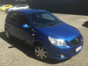2009 Holden Barina TK Blue Automatic Hatchback