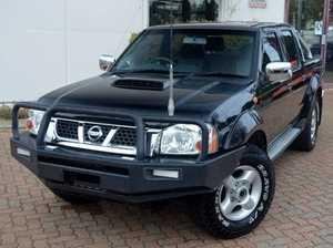 2008 Nissan Navara D22 ST-R Black 4 Speed Manual Utility