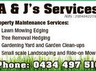 A & J's Services