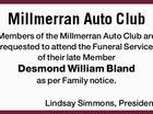 Millmerran Auto Club