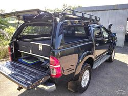108,000 km, manual, winch, bull bar, snorkel, canopy, fridge slide drawers, tow bar, roof racks, sol...