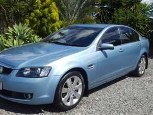 2007 Holden Calais Blue