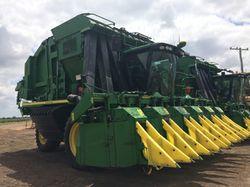 John Deere 2010 & 2011 - 7760 Cotton Pickers. Excellent machines, all updates complete, vid...