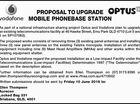 PROPOSAL TO UPGRADE MOBILE PHONEBASE STATION