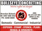 BULLSEYE CONCRETING