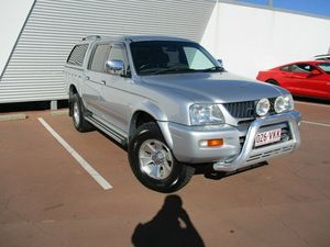 2005 Mitsubishi Triton MK MY05 GLS Double Cab Silver 4 Speed Automatic Utility