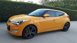 "2013 Hyundai Veloster Plus, 6sp man, 43,000klm, 18"" black wheels, nav man, rev camera, s/roo..."