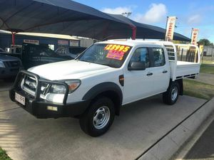 2011 Ford Ranger PK XL (4x4) White 5 Speed Manual Dual Cab