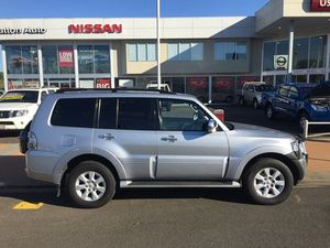 2012 Mitsubishi Pajero NW MY12 Platinum Edition Silver 5 Speed Auto Sports Mode Wagon