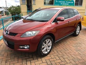 2007 Mazda CX-7 ER Classic (4x4) Red 6 Speed Auto Activematic Wagon