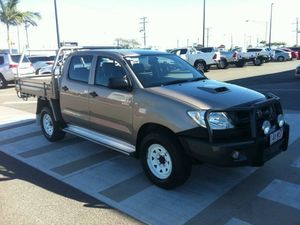 2010 Toyota Hilux KUN26R MY10 SR Brown 4 Speed Automatic Utility