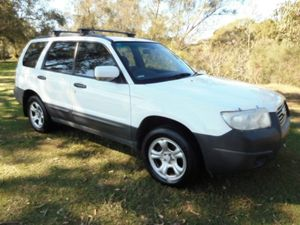 2006 Subaru Forester 79V MY07 X AWD White 4 Speed Automatic Wagon