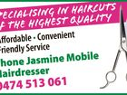 JASMINE MOBILE HAIRDRESSER