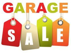 MEGA Garage sale. ALL items must go. Books, toys, Vintage Cylinder Mower, handbags, bikes, L-shaped...