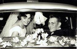 Happy 50th Wedding Anniversary Ray & Gay Bills  Lots of love from Karen & Mark,  Craig & Mardi, Mand...