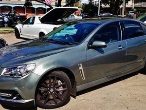 2014 Holden Commodore VF SS V Redline Grey 8 Speed Steptronic Sedan
