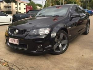 2012 Holden Commodore VE Series II SS Z Series Black 8 Speed Manual Sedan