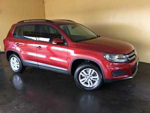 2012 Volkswagen Tiguan 5NC MY13 118 TSI (4x2) Red 6 Speed Manual Wagon