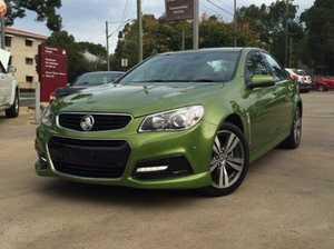 2015 Holden Commodore VF SV6 Green 6 Speed Steptronic Sedan