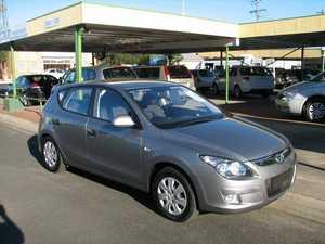 2011 Hyundai i30 FD MY11 SX Grey 6 Speed Automatic Hatchback
