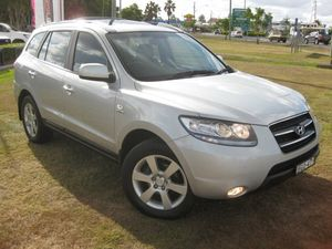 2008 Hyundai Santa Fe CM MY08 Upgrade Elite CRDi (4x4) Silver 5 Speed Automatic Wagon