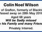 Colin Noel Wilson