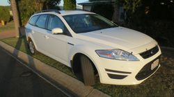 2012 auto Mondeo LX diesel regd 5/17, as new cond, one owner, ac, <41000km, b'tooth, log...