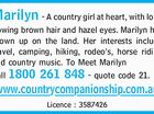 Marilyn - A country girl at heart