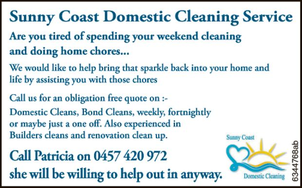 Are you tired of spending your weekend cleaning and doing home chores...