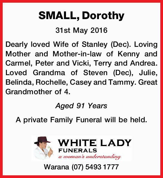 31st May 2016