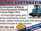 Mini Excavator & Bobcat