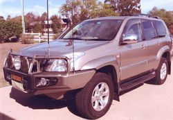 "TOYOTA Prado ""Grande"" 2005 Diesel Auto VGC. 162,000kms, one owner, fully serviced, many..."
