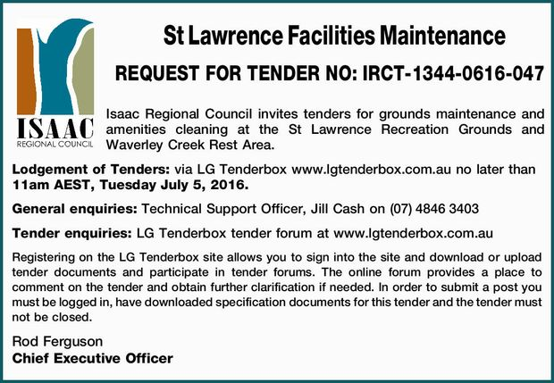 St Lawrence Facilities Maintenance