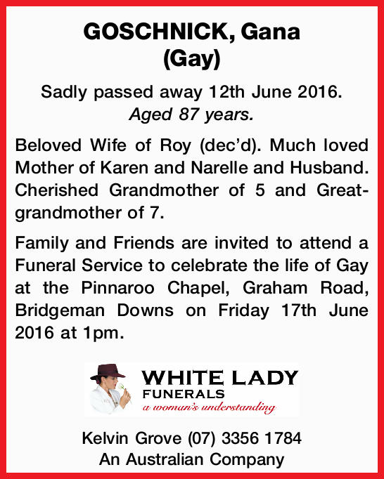 Sadly passed away 12th June 2016. Aged 87 years.