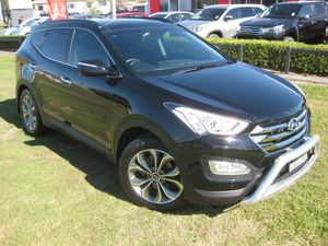 2014 Hyundai Santa Fe DM Highlander CRDi (4x4) Black 6 Speed Automatic Wagon