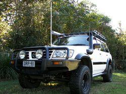 Nissan Patrol 2004 ST GU IV, man, 4.2L turbo diesel 230,000 kms, 7 seater, CB, extras galore, ser...