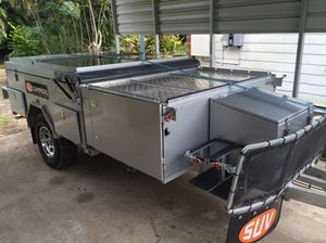 SUV Forward Fold Camper Trailer