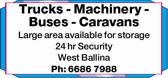 Trucks - Machinery - Buses Trailers - Boats - Caravans