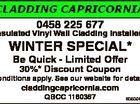 Cladding Capricornia