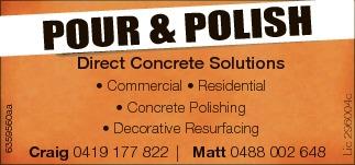 Commercial  Residential  Concrete Polishing  Decorative Resurfacin...