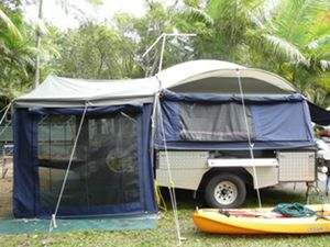 Lifestyle camper trailer